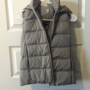 Uniqlo Puffer Vest with Removable Hood